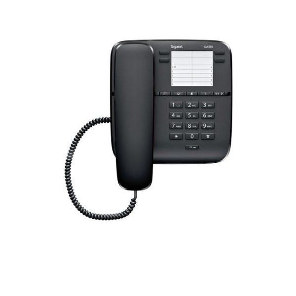 Corted Telephone Gigaset DA310 Black