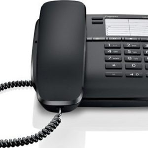 Corted Telephone Gigaset DA410 Black