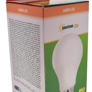 LED Lamp Spectrum E27 10W 800 Lumen 230V 50Hz A+