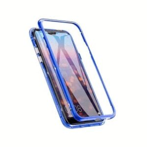 Case Ancus 360 Full Cover Magnetic Metal for Apple iPhone 7 / 8 / SE (2020) Blue