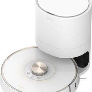 Lenovo T1 Pro Robot Vacum Cleaner with Dustbin Disposal White/Gold QY60X77255