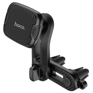 Car Mount In-Air Outlet Hoco CA68 Sagittarius Series with Double Air Outlet Black