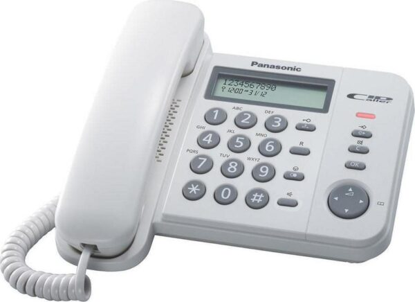 Panasonic  KX-TS580EX1WW White with Speaker Phone