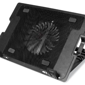 Laptop Cooler Media-Tech MT2658 Black for Laptop up to 15.6""