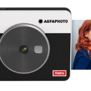 "Camera Agfa Square Shot 3X3 Μαύρη 10MP Bluetooth V.4.0 LCD 1.77""  και Τεχνολογία 4PASS"