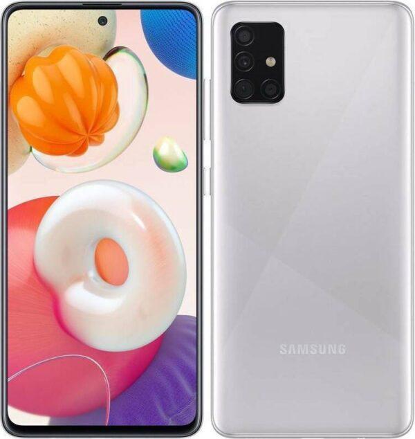 """Samsung SM-A515F/DS Galaxy A51 Dual Sim 6.5"""" 4G 4GB/128GB NFC Metallic Silver"""