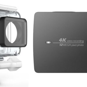 Yi 4K Action Camera with waterproof case Black