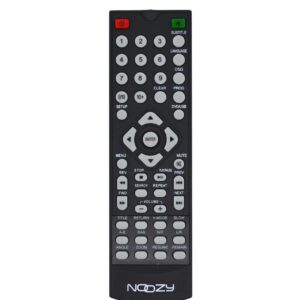 Remote Control Noozy for DVD Player ND-2050 Black Bulk