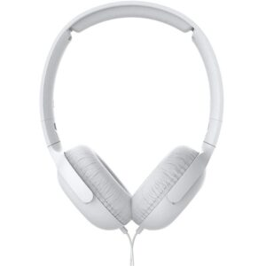 Philips Stereo Headphone On-Ear SHS TAUH201BK/00 3.5 mm White with Microphone for Mobile Phones