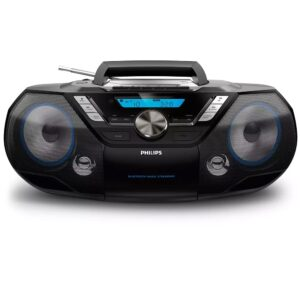 HiFi System Philips 12W AZB798T/12 Black with MP3-CD