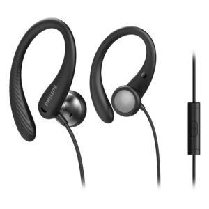 Hands Free Philips in-Ear Stereo 3.5mm TAA1105BK/00 Spor Black With Microphone IPX2