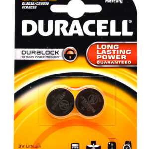 Buttoncell Duracell CR2032 Pcs. 2