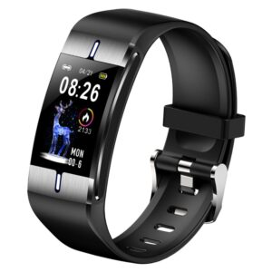 Maxcom Smartband FW34 Silver IP68 with Aluminum Housing and Colored Screen