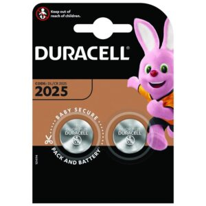 Buttoncell Lithium Duracell CR2025 Pcs. 2