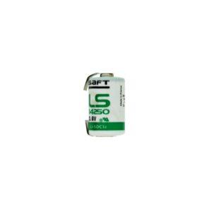Βattery Saft LS 14500 Li-ion 3.6V 1/2AA with Grated Shields