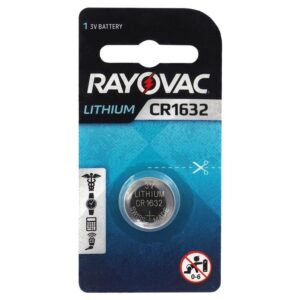 Buttoncell Lithium Electronics Rayovac CR1632 Pcs. 1