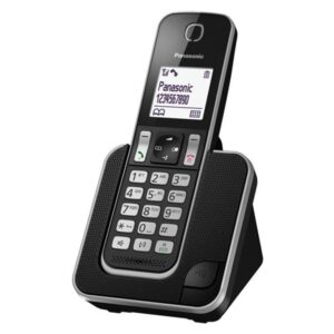 Dect/Gap Panasonic KX-TGD310GRB with Intercom Function and Baby Monitor Black