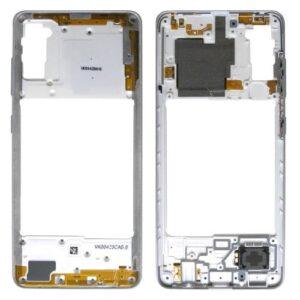 Middle Plate Samsung A415F Galaxy A41 White (Original)