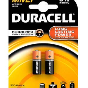 Alkaline Battery Duracell MN21 size A23/V23GA/LRV08/8LR932 12V Psc. 2