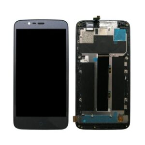 LCD with Touch Screen & Front Cover ZTE Blade A310 Black (OEM)