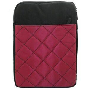 Bag Tablet Case 7''-10.1'' Quilted Fuchsia - Black (Bulk)