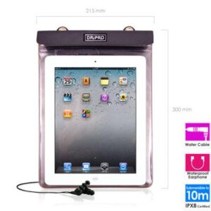 Waterproof Case Dripro for Tablet 9''-10'' Dimensions up to 250x190mm