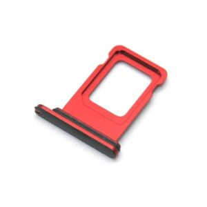 Sim Card Holder Apple iPhone 11 Red (OEM)