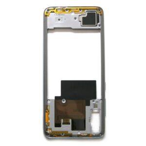 Middle Plate Samsung A705F Galaxy A70 White (Original)