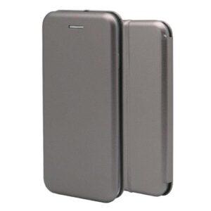 Flip Book Case inos Xiaomi Redmi Note 5A Prime Curved M-Folio Smoke Grey