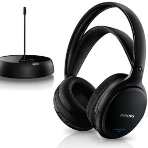 Philips Wireless Stereo Headphones SHC5200/10 Black for TV and HiFi Stereo
