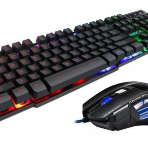 Wired Keyboard and Mouse iMICE AN-300 USB with LED Backlight