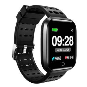"Smartwatch Lenovo E1 Pro IP67 180mAh V.4.2 1.3"" Black Silicon Band"