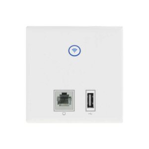 Access Point Comfast CF-E536N 300Mbps Dual Band WiFi Ceiling Wall Mounted White with LED Indicators