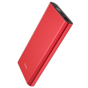 Power Bank Hoco J68 Resourceful 10000mAh USB 2A with LED Indicators Red