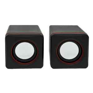 Multimedia Speaker Stereo Leerfei D-02A with 3.5mm jack and USB Charge