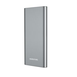 Power Bank Borofone BT19A Universal 20000mAh Micro USB Input & Dual USB 5V/2A Output and LED indicator Silver