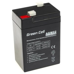 Battery for UPS Green Cell AGM  (6V 4.5Ah) 0.74 kg 70mm x 47mm x 100mm