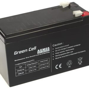 Battery for UPS Green Cell AGM (12V 7.2Ah) 2.15 kg 151mm x 65mm x 94mm