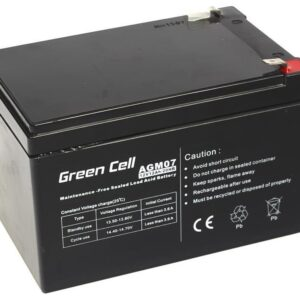 Battery for UPS Green Cell AGM07 AGM (12V 9Ah) 2.5 kg 151mm x 65mm x 94mm