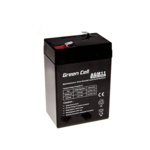 Battery for UPS Green Cell AGM11 AGM (6V 5Ah) 0