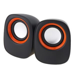 Multimedia Speaker Stereo Leerfei D-05A with 3.5mm jack and USB Charge