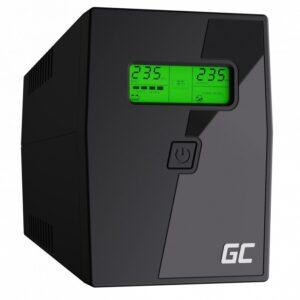 UPS Green Cell UPS02 Micropower 800VA 12V/9Ah  480W 2x Schuko 298 x 101 x 142 mm