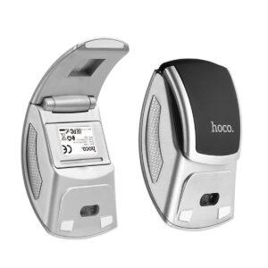 Wireless Mouse Hoco DI03 1200 DPI 2.4G 3 Buttons Foldable. Black-Silver