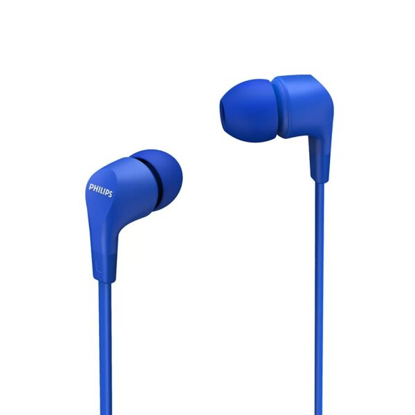 Hands Free Philips in-Ear HS Stereo 3.5mm TAE1105BL/00 Blue With Microphone