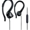 Hands Free Philips ActionFit SHQ1255TBK/00 Stereo Black with Microphone
