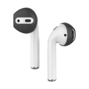 Silicon Earhooks AhaStyle PT76 Apple Earpods & Airpods Fit in Case Black (3 pairs)