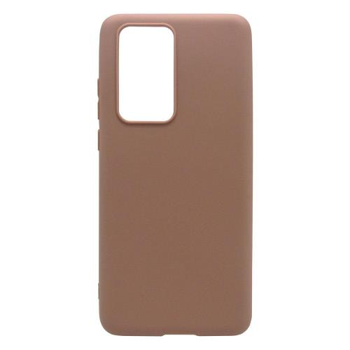 Soft TPU inos Huawei P40 Pro S-Cover Brown