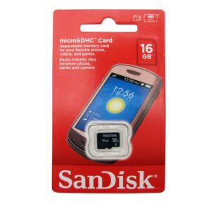 Micro SDHC C4 Memory Card SanDisk16Gb