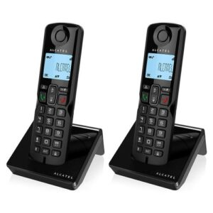 Dect Alcatel S250 Duo with Call Block Black