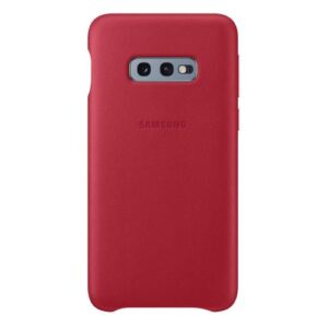 Leather Cover Samsung EF-VG970LREG G970F Galaxy S10e Red